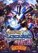 Lucario en Mew Cover