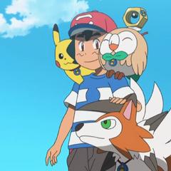 Эш воссоединился с Пикачу и друзьями-покемонами из Алолы