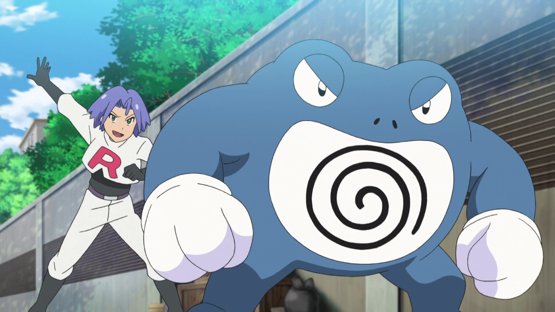 Team Rocket Poliwrath