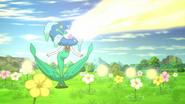 Blue Flower Florges Solar Beam