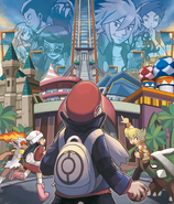 Sinnoh Battle Frontier Brain artwork