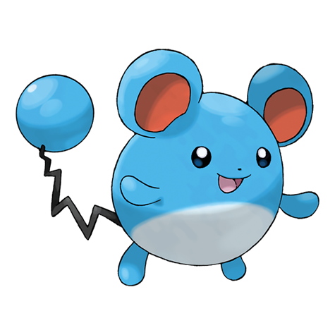 marill is one of the easiest pokemon to draw
