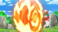 Ash Infernape Flare Blitz
