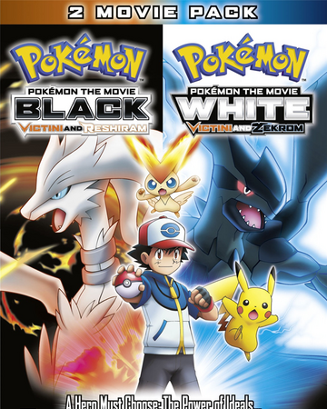 Ms014 Pokemon The Movie Black Victini And Reshiram And White