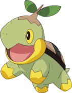 387Turtwig DP anime 2