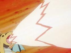 Drake Dragonite Hyper Beam anime