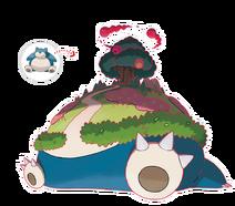 Pokemon gsnorlax 2x