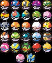 Toutes les ball