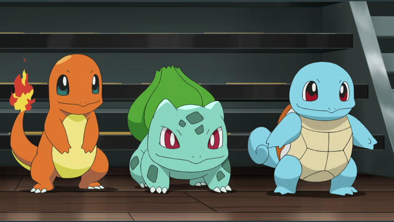 Cerise Kanto Starter Pokémon