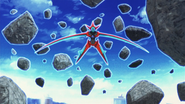 Deoxys purple crystal Psychic