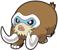 473Mamoswine DP anime 2
