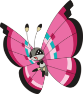 666Vivillon-Meadow XY anime
