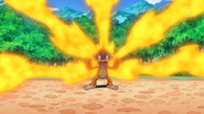 Ash Monferno Blaze