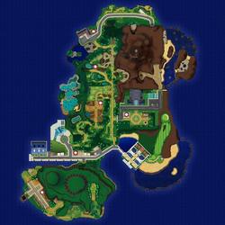 SM 아칼라섬 맵