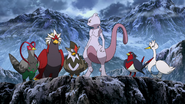Mewtwo and Flying-types