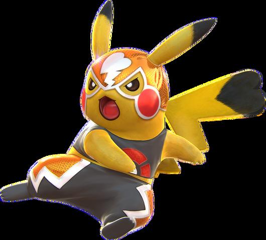 File:Pikachu Libre (Pokkén Tournament).png