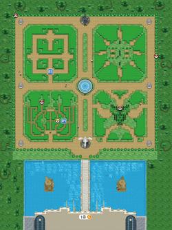 파르팽 궁전 정원