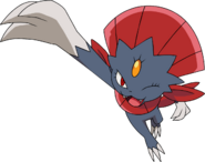461Weavile DP anime 3