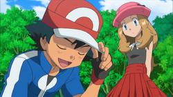 Ash en Serena XY006