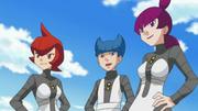 Commanders anime