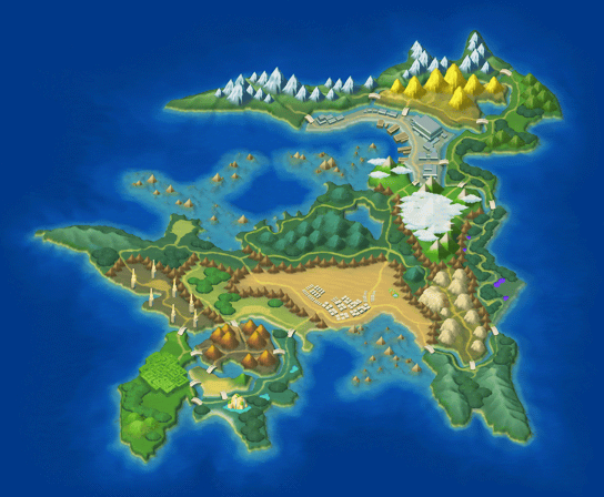 Regions | Pokémon Wiki | FANDOM powered by Wikia