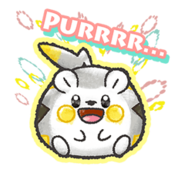 Togedemaru line sticker