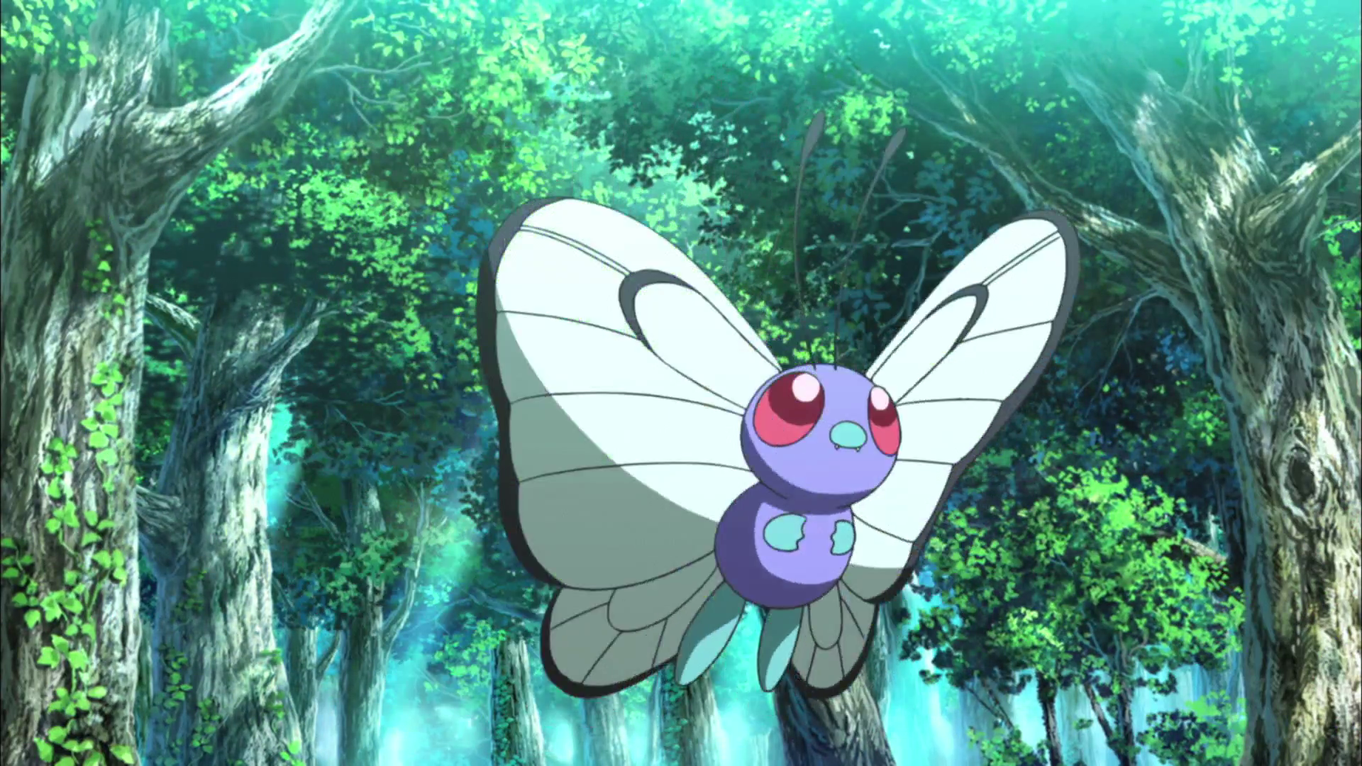 Ash Butterfree M20