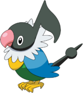 441Chatot DP anime