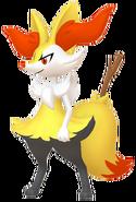 654Braixen Pokémon HOME