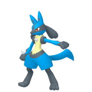 448Lucario Pokémon HOME