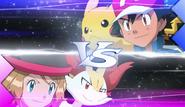 Ash VS Serena XY138