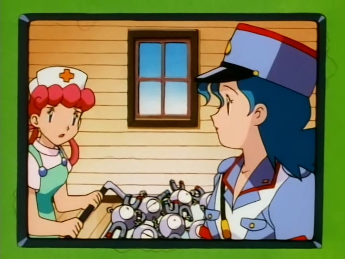 Nurse Joy Magnemite