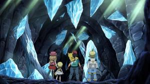 애니메이션에서의 비춤의 동굴