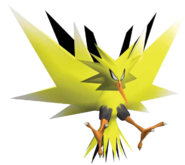 145Zapdos Pokemon XD Gale of Darkness
