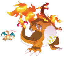 Pokemon gcharizard 2x