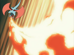 Salamence Flamethrower