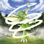Scyther Pokemon Ranger