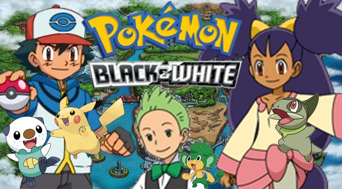 Pokemon Black and White Poster
