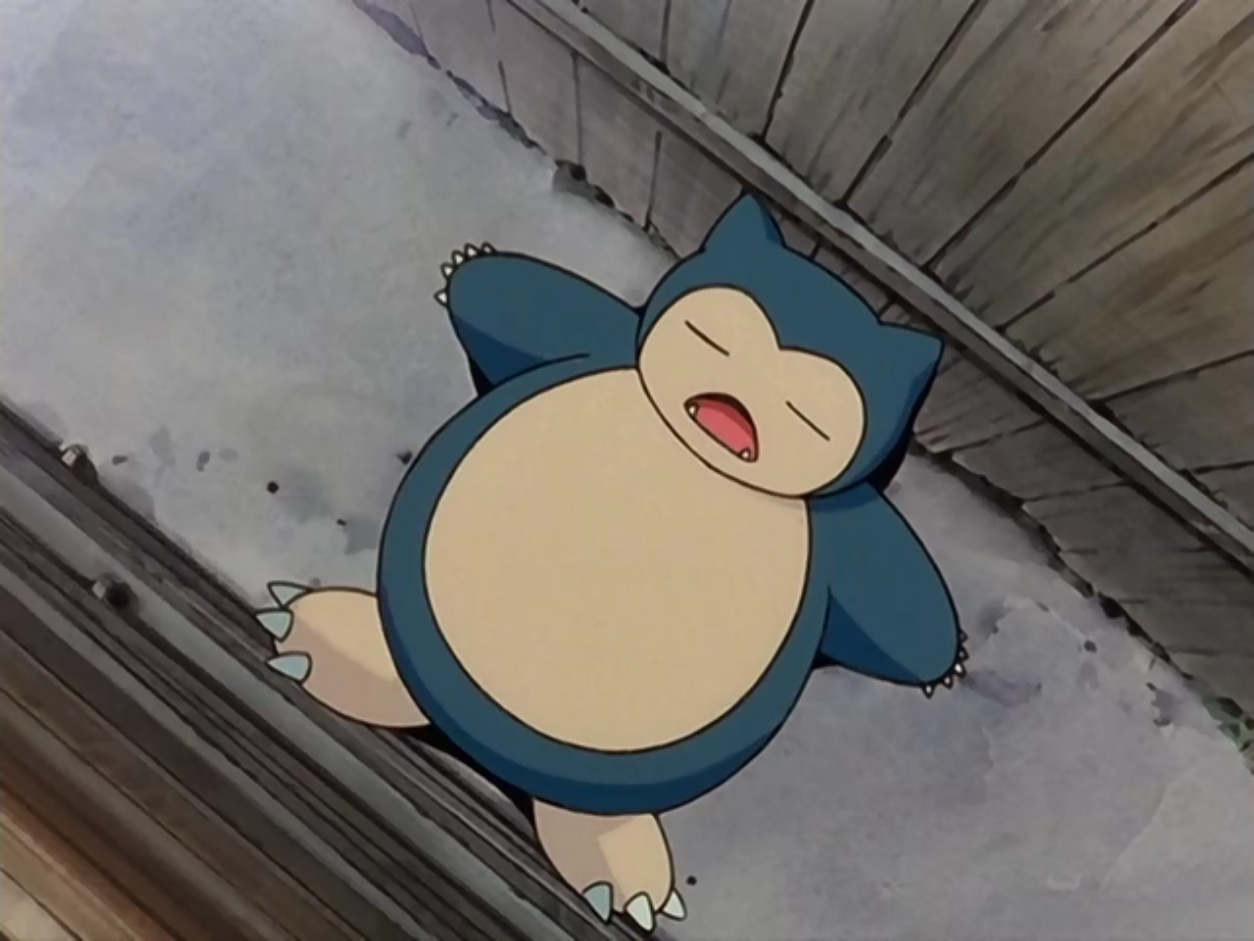 Snorlax Anime Pok 233 Mon Wiki Fandom Powered By Wikia