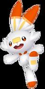 813Scorbunny Pokémon HOME
