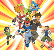 Ash and Friends Advanced Generation
