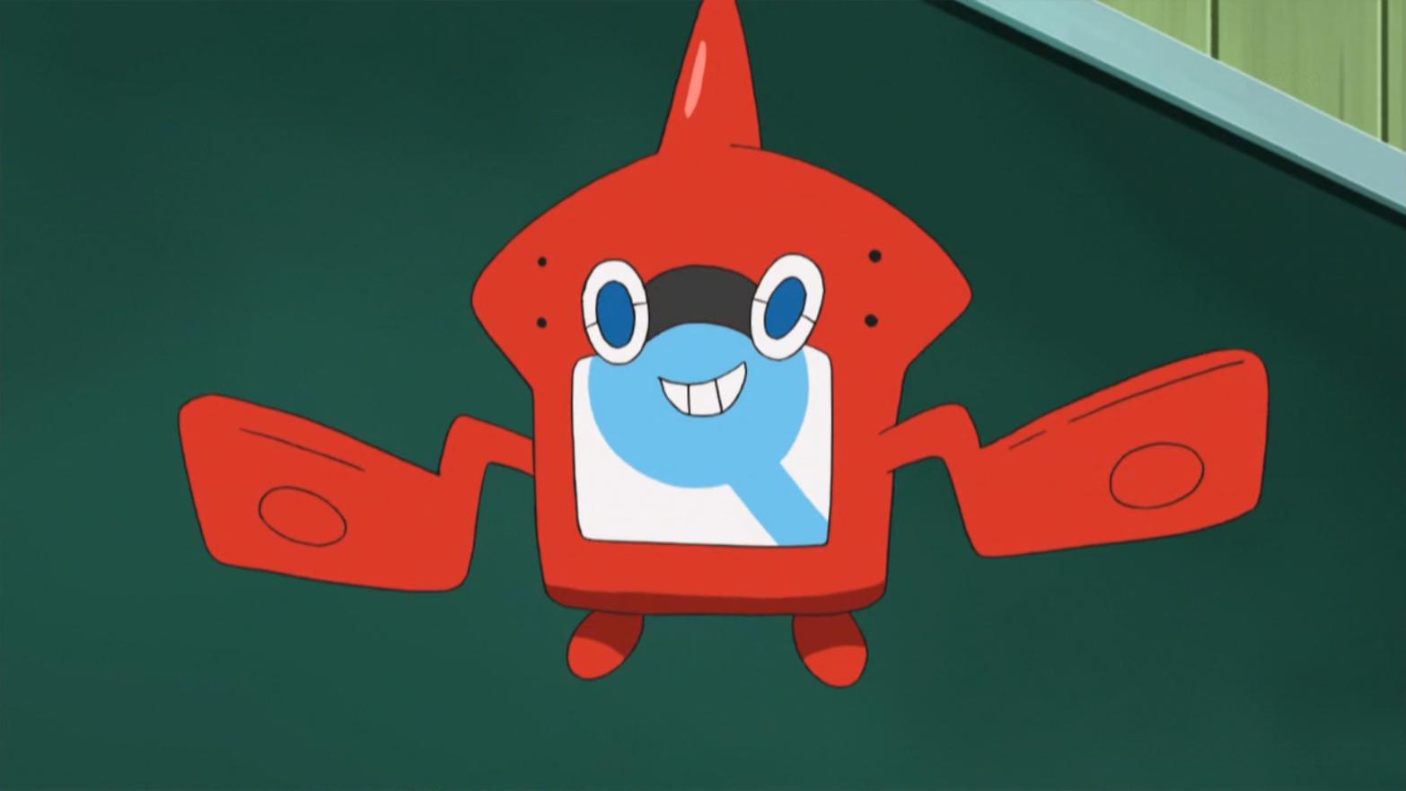 Rotom Pokédex anime
