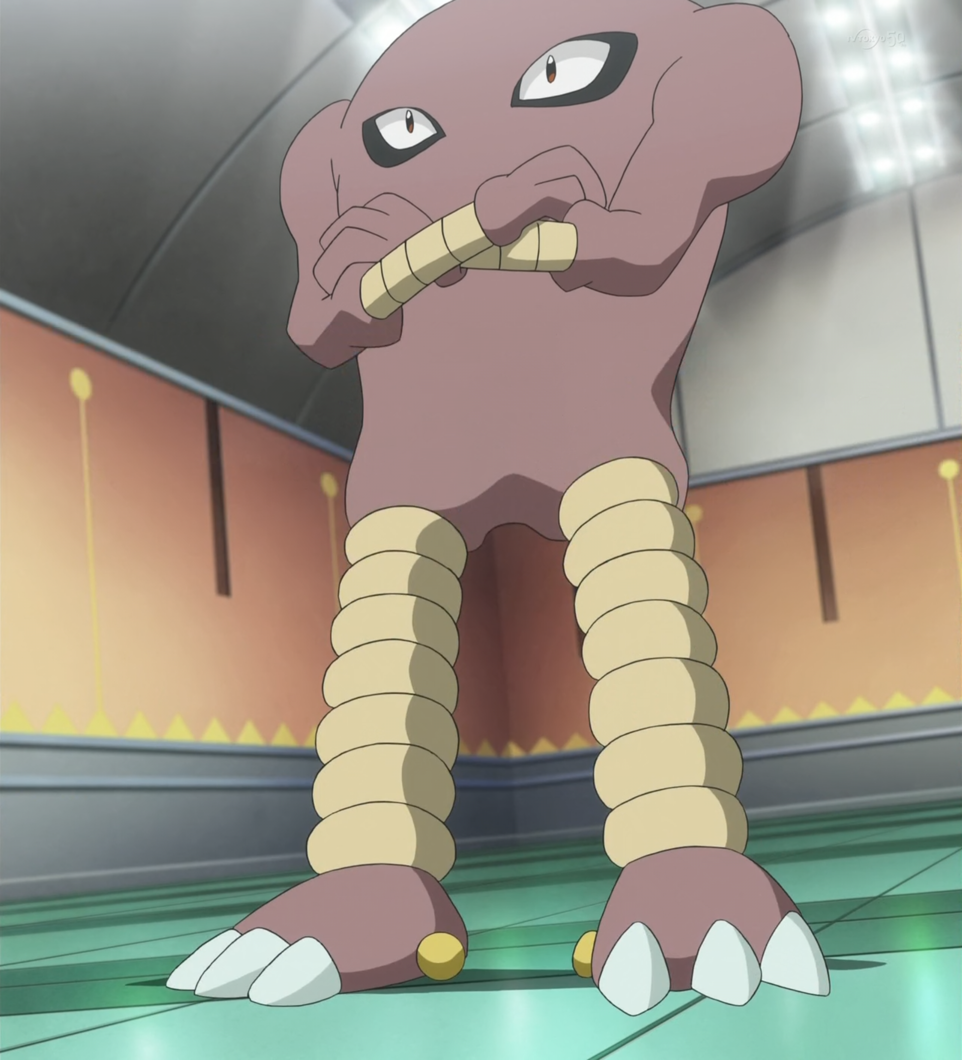 Reds Hitmonlee Pokémon Wiki Fandom Powered By Wikia