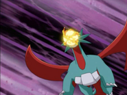 Silver Salamence Dragon Breath