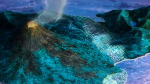 애니메이션에서의 벨라화산공원