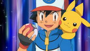 Ash and Pikachu in Future Episode