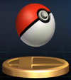 Poké Ball trophy SSBB