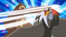 링곰의 베어가르기 공격