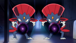 Kidd Summers Weavile Shadow Ball