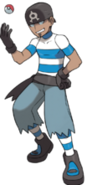 Male Team Aqua Member